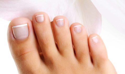 Crecimiento de las uñas de los pies