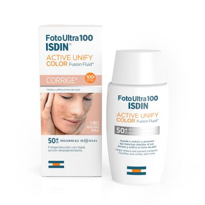 Foto Ultra 100 ISDIN Active Unify COLOR